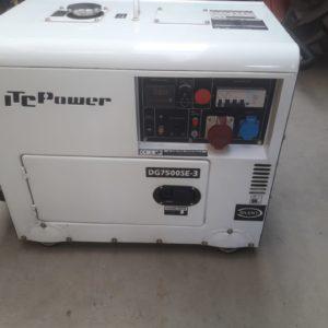 Groupe électrogène diesel 6kva mono et triphase 380